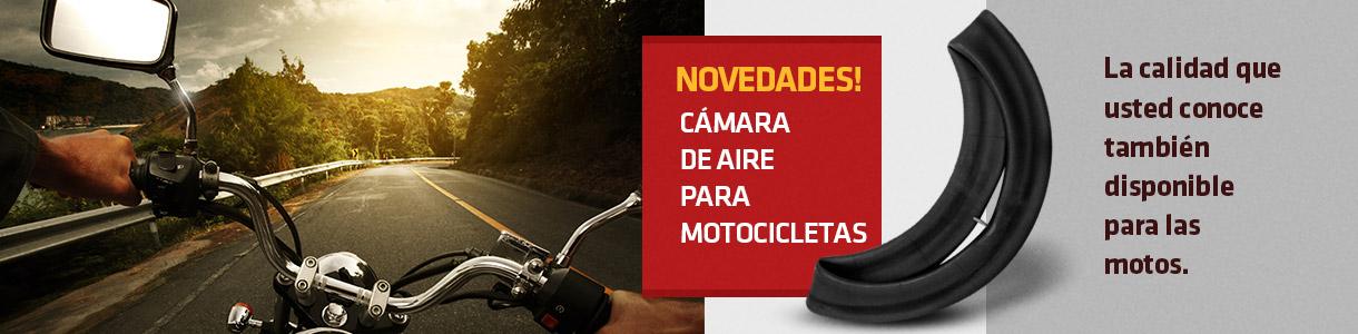 Cámaras para Motocicletas