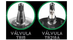 Válvula TR15 e Válvula TR218-A