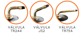 Válvula TR244 | JS2 | TR75-A