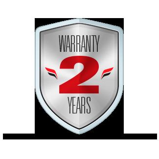 Warranty 2 Years